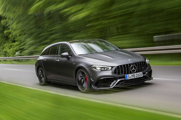 2020 Mercedes-AMG CLA 45 Shooting Brake revealed