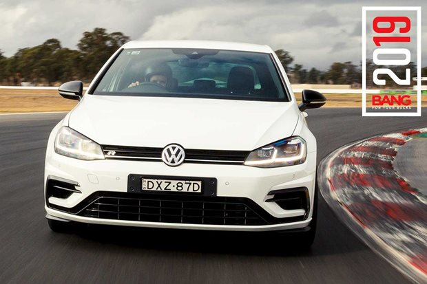 VW Golf R Special Edition track review: 7th place, Bang For Your Bucks 2019