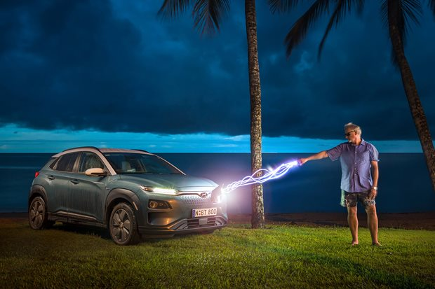 Driving the EV super highway in the Hyundai Kona EV