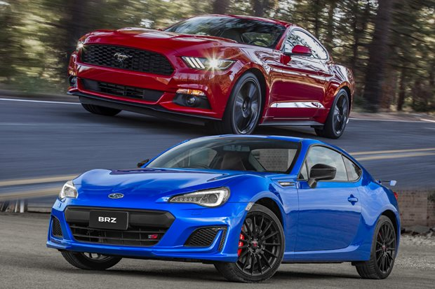 Buy the new Subaru BRZ tS or get a used Ford Mustang EcoBoost