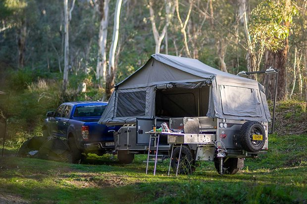 Cub Frontier camper trailer 4x4 product test