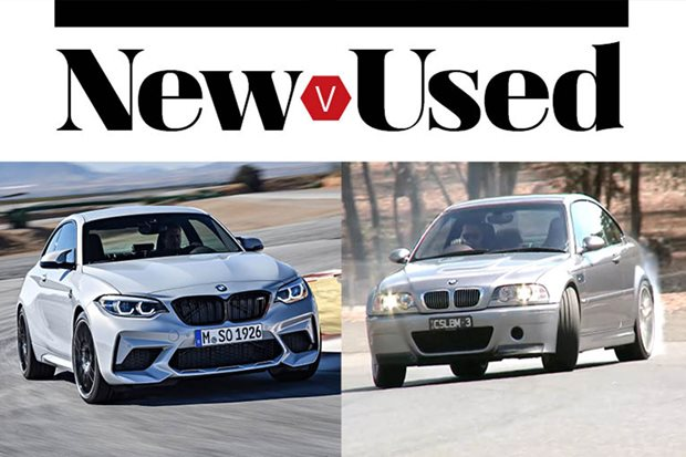 Buy the new BMW M2 Competition or get a used BMW E46 M3 CSL?