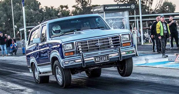 Procharged Ford Bronco - Drag Challenge 2019 contender
