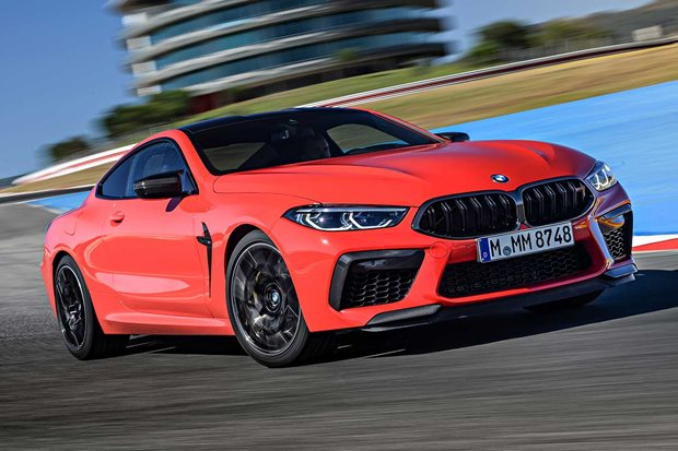 2020 BMW M8 Competition performance review