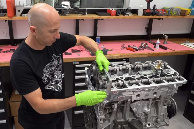 746kW Toyota Supra engine assembled
