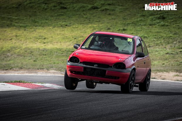 The Big Block Barina hits Haunted Hills