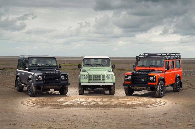 1983-2016 Land Rover Defender 4x4 History