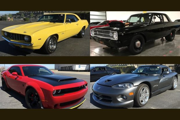 FBI seize and auction huge stash of American muscle