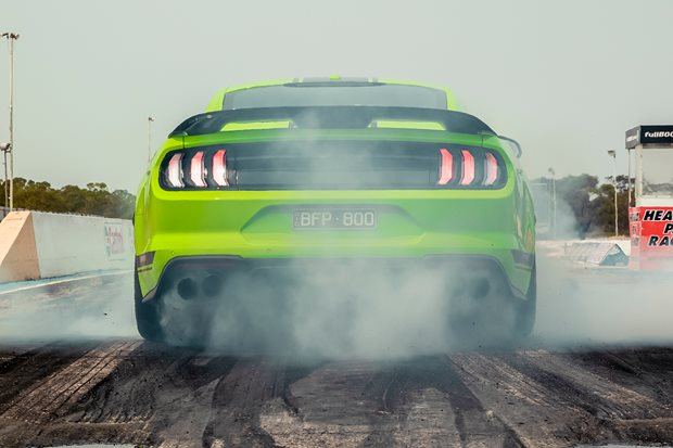 Flat-out in the 500kW Mustang R-Spec: this month in Wheels
