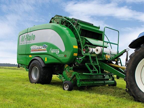 mchale fusion 3 vario review rh farmtrader co nz McHale Wrappers ACI McHale Baler