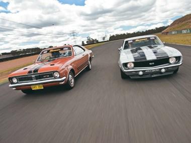 Holden Ht Monaro Gts 350 V Chevy Camaro Ss 350 1969 Review
