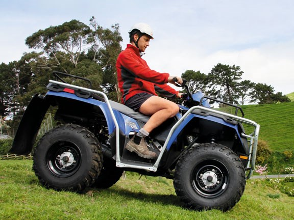 Review: Polaris Sportsman 400 H.O. ATV quad bike
