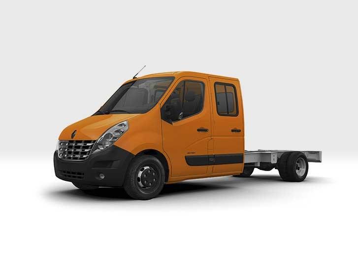 Renault master dual cab