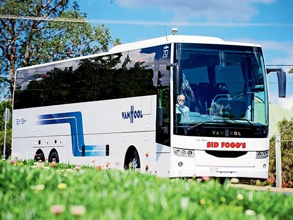 Van Hool Bus >> Video Review Van Hool Ex 16h Coach