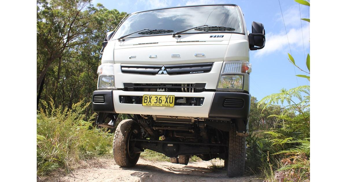Mitsubishi Fuso Canter Fg 4wd Truck Review