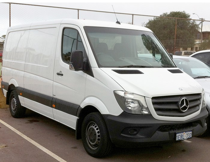 electric sprinter van a definite option for benz news. Black Bedroom Furniture Sets. Home Design Ideas