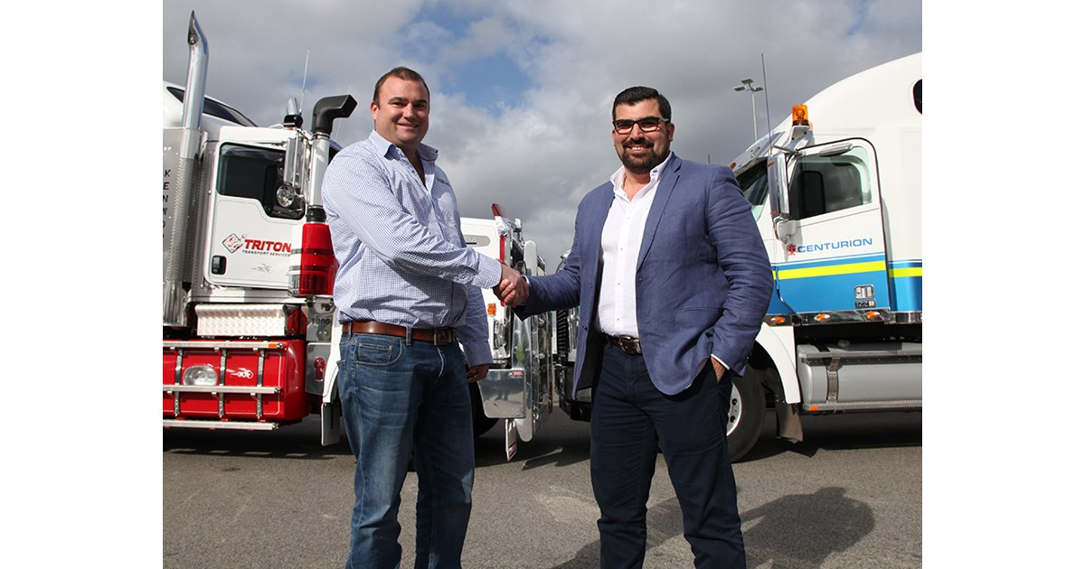 Hino Hybrid Truck Reviews >> Centurion nets Triton to bolster haulage and freight credentials | News