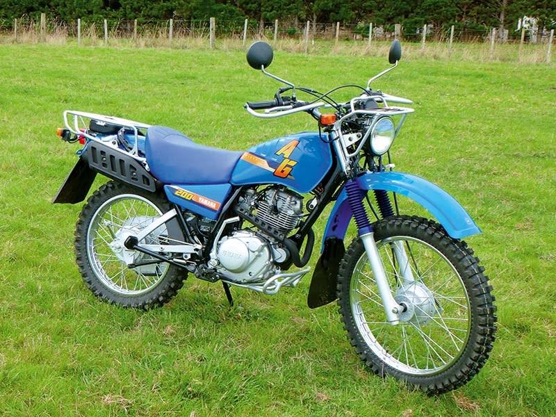 Yamaha AG200E farm bike review
