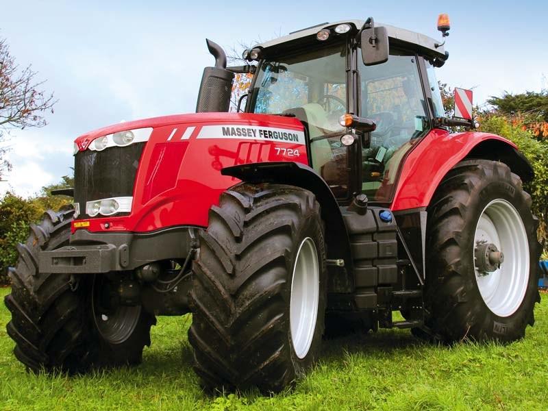 massey ferguson  Massey Ferguson 7724 tractor review