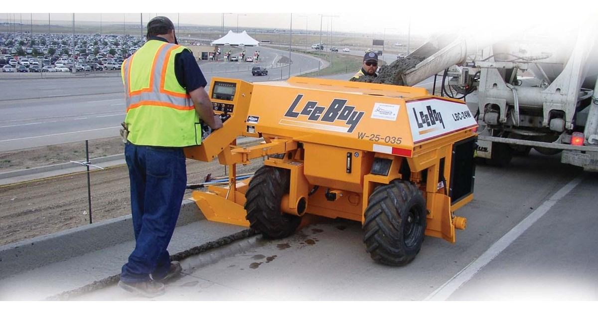 2015 leeboy lbc 24w concrete curber for sale for Leeboy motor grader for sale