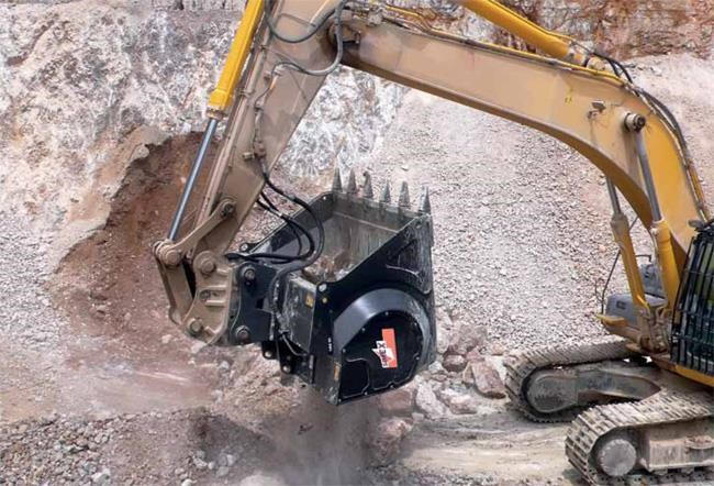 Simex Cbe20 Excavator Crusher Buckets For Sale