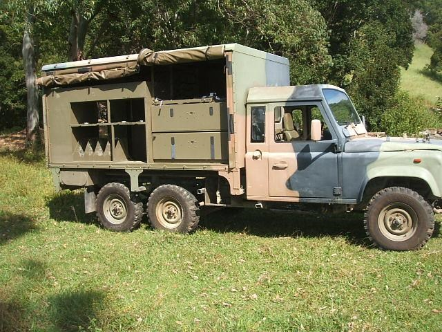 LANDROVER 110 6X6 for sale