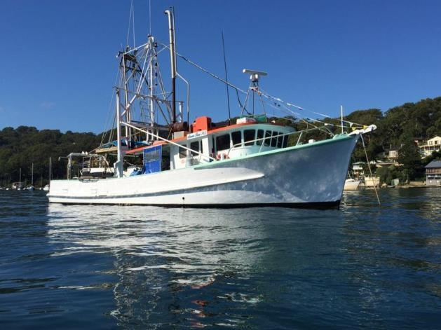 Mclaren osti corbet for sale trade boats australia for Commercial fishing nets for sale