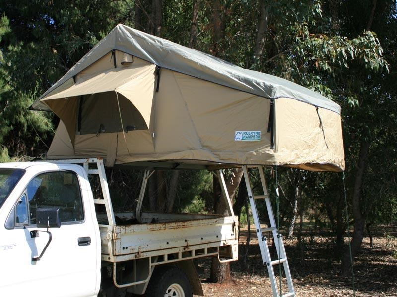 kylin c&ers 3 person -  sky view  canvas roof top tent ... & KYLIN CAMPERS 3 PERSON -