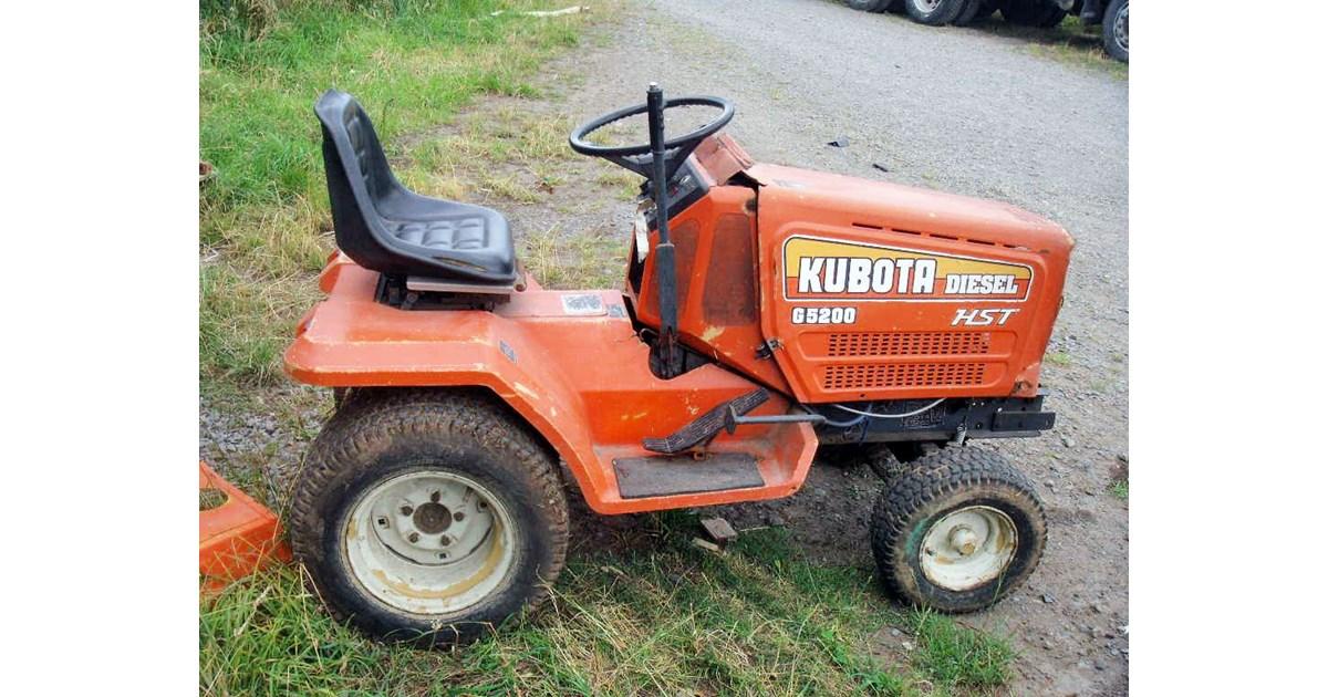 Kubota G5200 Hst For Sale