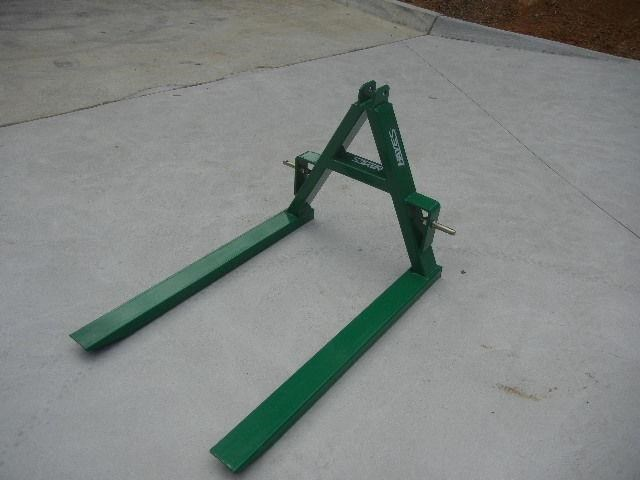 3 Point Forks : Hayes point linkage tractor pallet fork rated kg