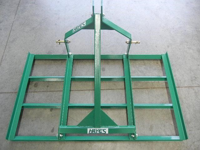 Hayes 5ft Tractor Leveling Smudge Bar 3 Point Linkage