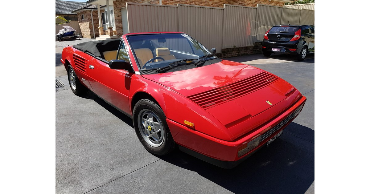 1986 ferrari mondial cabriolet review used 1986 ferrari. Black Bedroom Furniture Sets. Home Design Ideas