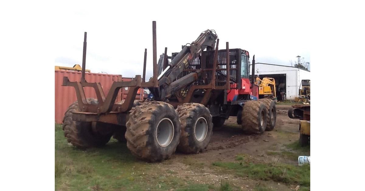 2001 Valmet 890 1 Log Forwarder For Sale