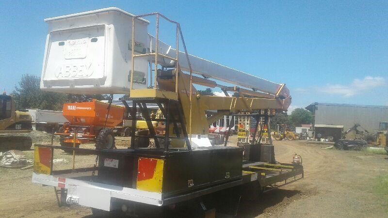 Abbey d758 cherry picker for sale trade plant and equipment australia sciox Gallery