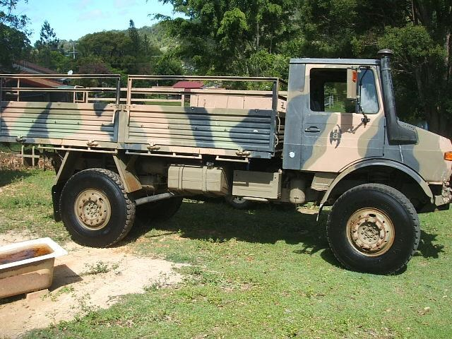 1983 MERCEDES-BENZ UNIMOG for sale