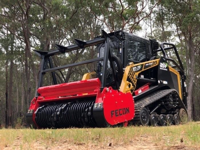 2018 Fecon Skid Steer Forestry Mulchers For Sale