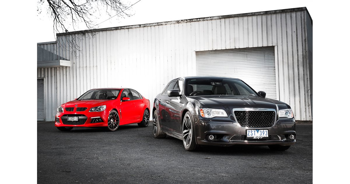hsv clubsport vs chrysler 300 srt8 core. Black Bedroom Furniture Sets. Home Design Ideas