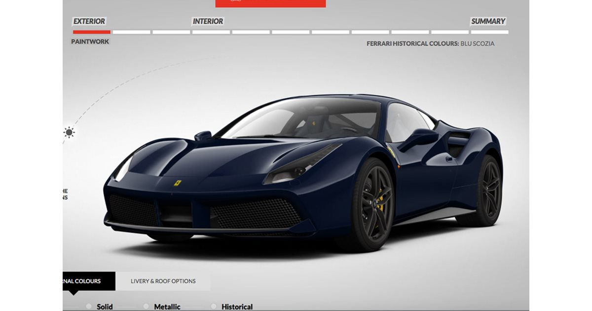 build your own ferrari 488. Cars Review. Best American Auto & Cars Review