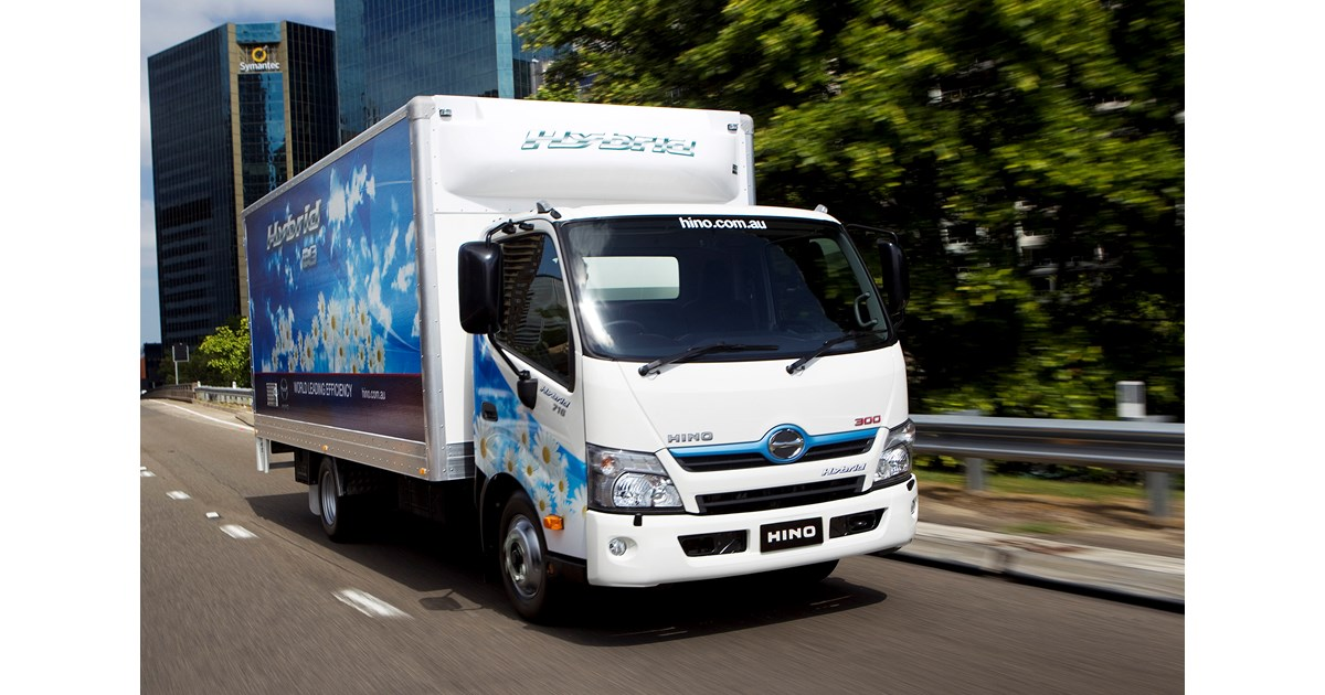 Hino Hybrid Truck Reviews >> Hino hybrid enters its 10th year in Australia | News