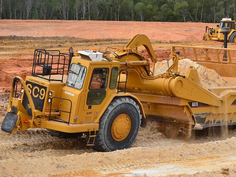 Used Equipment Review Cat 637 Scraper