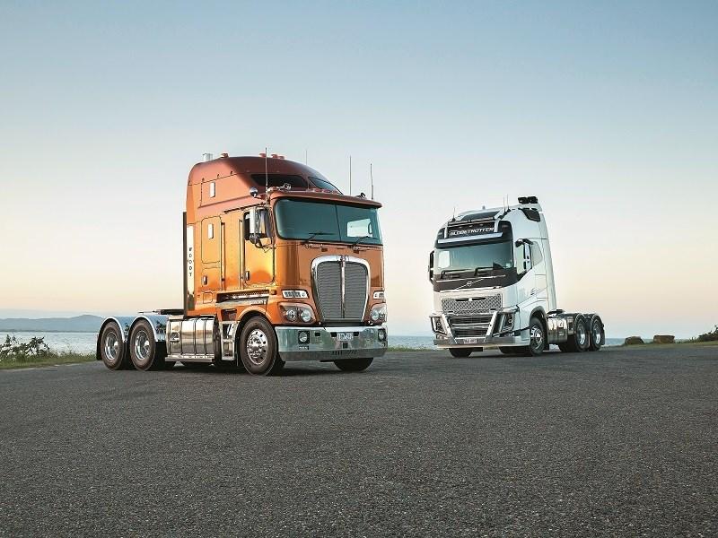Clash of the Titans: Kenworth vs Volvo
