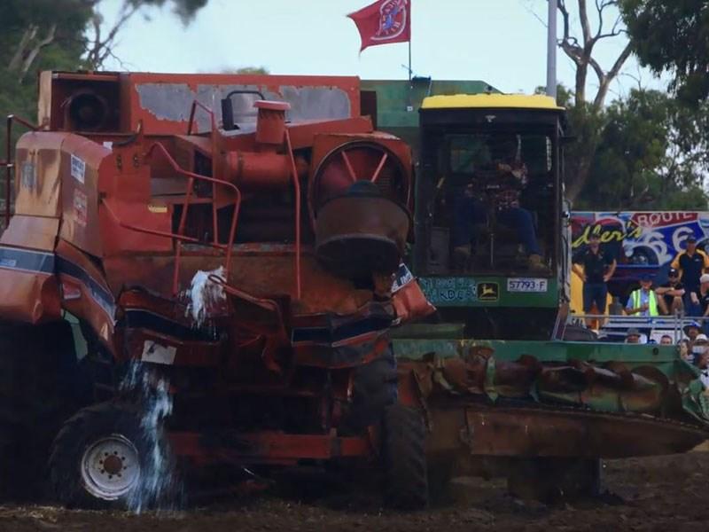Insane header demolition derby for Demolition wood for sale
