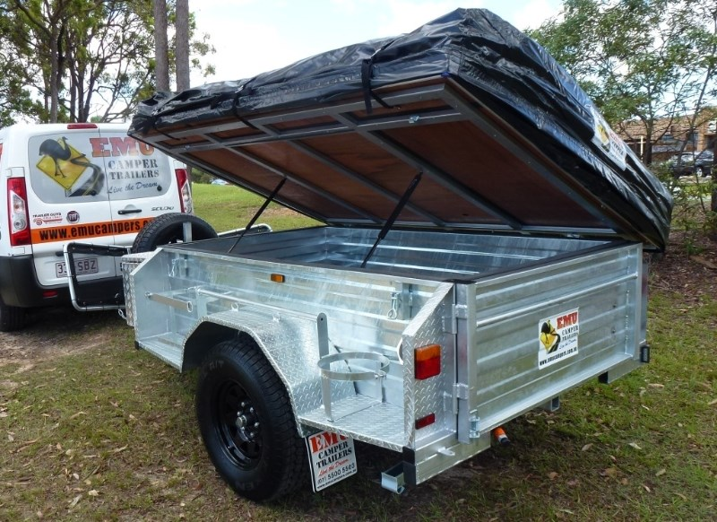 new emu camper trailers off road camper trailer camper trailers for sale. Black Bedroom Furniture Sets. Home Design Ideas