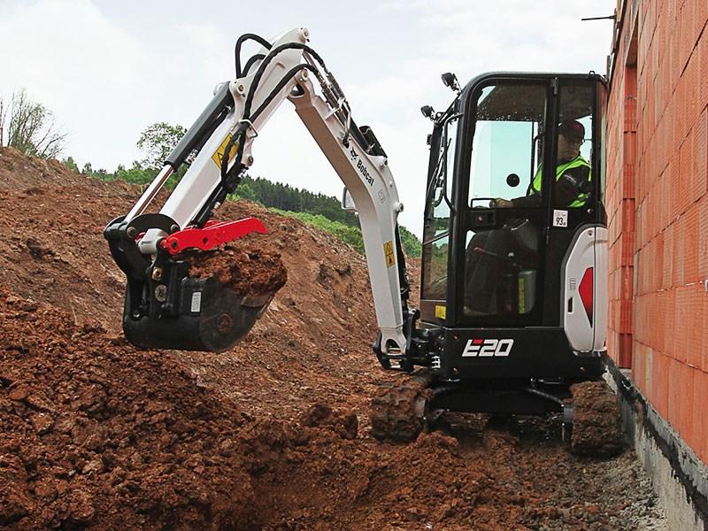New Bobcat E20 Excavators For Sale