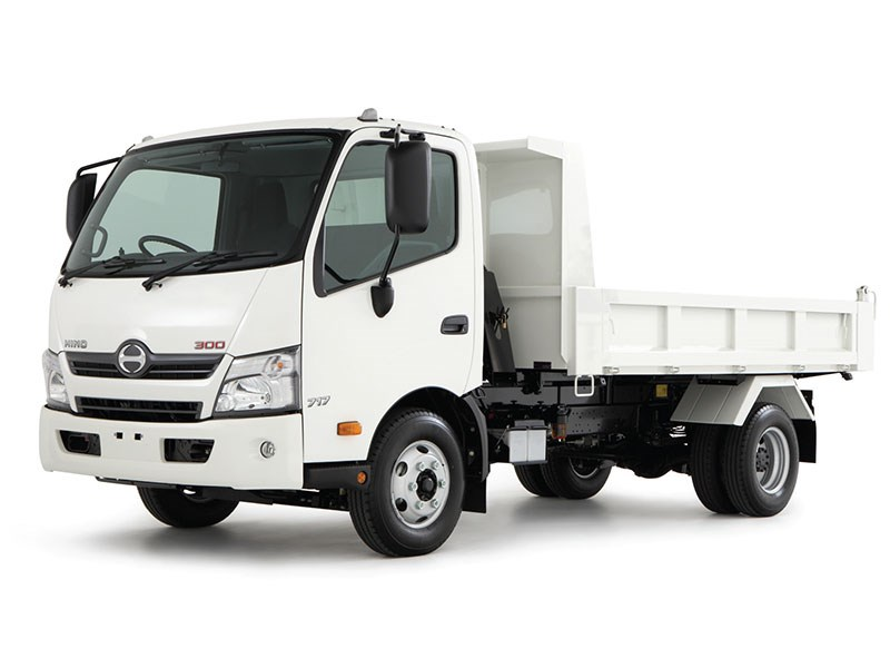 New Hino 300 Series 917 Tipper Trucks For Sale
