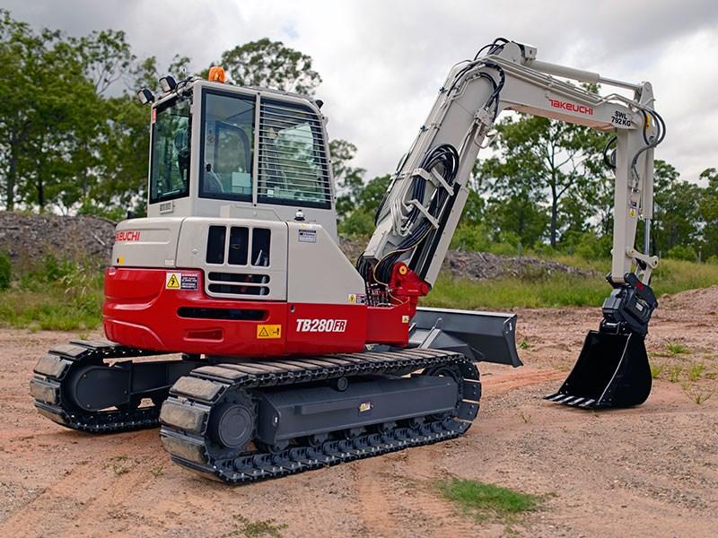 New Takeuchi Tb280fr Excavators For Sale