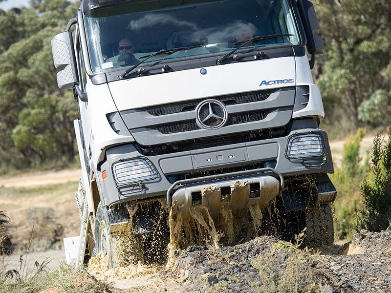 New mercedes benz actros 3348 awd trucks for sale for Mercedes benz pickup truck for sale