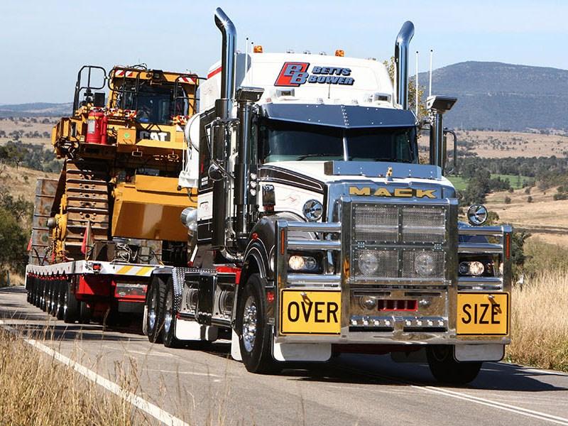 New MACK TITAN 8X6 TRI-DRIVE Trucks for sale