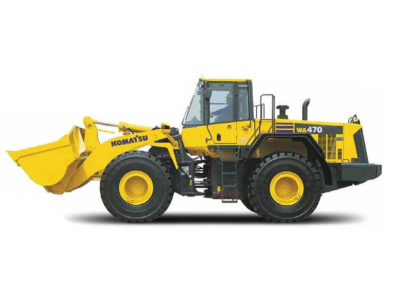 new komatsu wa470 6a loaders for sale rh tradeearthmovers com au Komatsu Wheel Loader WA 1-50 Komatsu Wheel Loader WA 1-50