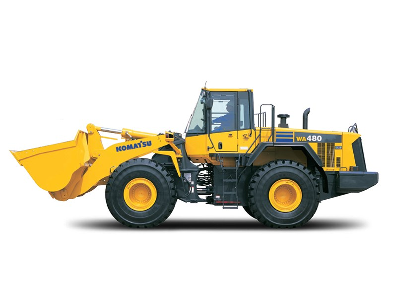 Equipment Trader Online >> New KOMATSU WA480-6A Loaders for sale